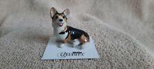 "Little Critterz Dog Corgi Cardigan ""Taffy"" Miniature Figurine New Lc948"
