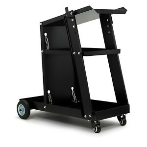 Welding cart universal trolley for welding, bottle, MIG TIG PLASMA with chains