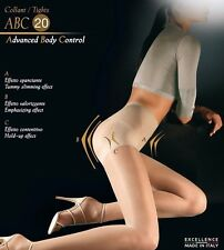 "NWT Medium M Moka Oroblu ""ABC"" Advanced Body Control Shaping Tights Hosiery"