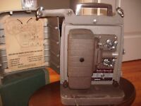 Vintage Bell & Howell Model 253 A 8MM Projector