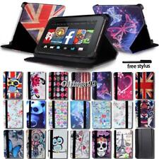 "Folio De Cuero Soporte Funda Cubierta para Amazon Kindle Fire 7""/HD 8""/HD 10"" Tablet"