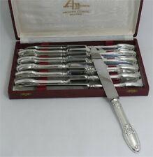 Boulenger style Empire 12 couteaux de table métal argenté et Inox excellent état