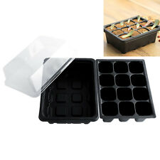 12 Holes Plant Seeds Grow Box Insert Propagation Nursery Seedling Starter Tray