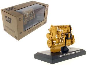 1/12 Scale Caterpillar Cat C15 ACERT Diesel Engine By Diecast Master 85139 Model