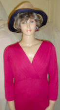 *NWOT $89 MOST Incredible Stretch Top Gorgeous COLOR ~L@@K Figure Flattering! LG