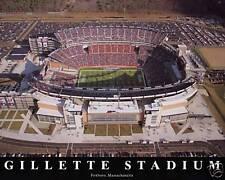 New England Patriots Gillette Stadium, 8x10 Color Photo