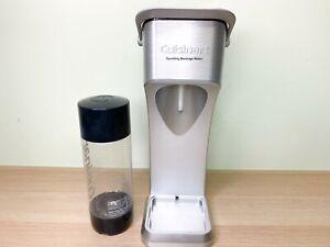 Cuisinart Sparkling Beverage Maker Carbonation System SMS-200 Black No Tray