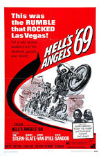 "Hells Angels 69 Exploitation Movie Poster Replica 13x19"" Photo Print"
