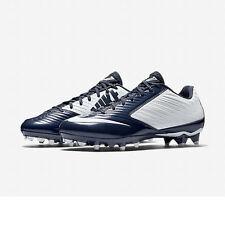 Nike Vapor Speed Low TD Football Cleats White White Navy 643152 114 Lacrosse