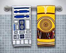 Star Wars R2-D2 & C-3PO Hand Towel Set - Star Wars Hand Towels - Star Wars Home