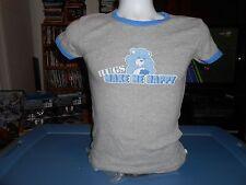 Vintage Care Bears Hugs Make Me Happy Shirt Womens Petite Medium M
