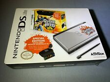 Nintendo DS Lite Guitar Hero Silver Handheld New Factory Sealed