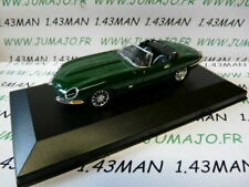 VOITURE 1/43 DEL PRADO : JAGUAR Type E cabriolet boîte vitrine