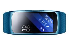 Samsung Gear Fit2 GPS Sports Band Smart Watch Blue L Size 4gb IP 68 Genuine