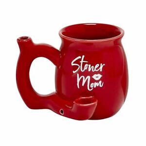 PREMIUM ROAST & TOAST SINGLE WALL MUG - RED STONER MOM MUG