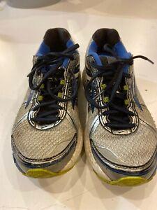 Brooks Adrenaline GTS-15 Running Shoes Men Size 8.5 Blue/Silver/Green 110181D168
