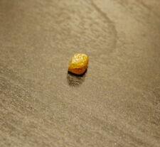 Edelsteine24 Natürlicher Rohdiamant braun 4,2mm 1,20 Karat Würfelform! D-51
