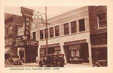DERBY, CT ~ AUTOS &  COMMODRE HULL THEATRE ~ ELM CITY PUB. ~ c. 1920s