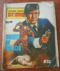 70s CRIMEN comic mystery WOMEN in danger CRIME ELVIS PRESLEY cover art KING ROCK