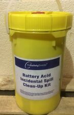 New The Safety Director Battery Acid Incidental Spill Clean-up Kit Item # 36024