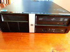 HP Pro 3000 SFF Desktop PC Intel Core2 E8400 3GHz 2GB RAM 160GB HDD Windows 7Pro
