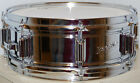 Rogers Powertone 5x14 Vintage 8-Lug Chrome Over Brass Snare Drum*NO RESERVE*