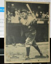 1929 Kaskin R-316 Baseball Roger Hornsby  Chicago Cubs 2nd Base HOF