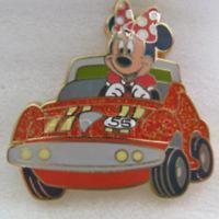 Disney Pin 43531 DLR Cast Fair Happiest Place to Work Minnie Mouse Autopia LE