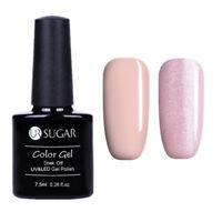 2Bottles Soak Off UV Gel Polish Glitter  Nail Art LED Gel Varnish UR SUGAR