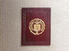 University of Minnesota Umn Gophers Antique Leather Tobacco Premium Seal ca 1908