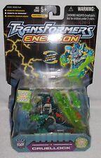 "TRANSFORMERS ENERGON 2003 Hasbro CRUELLOCK 5"" Robot Action Figure NEW/MIP"