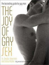The Joy of Gay Sex . Charles Silverstein & Felice Picano gay interest hardcover