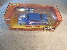 Jada Toys Von Dutch Garage '51 Mercury Blue Diecast Car Customizable 2004 MIB