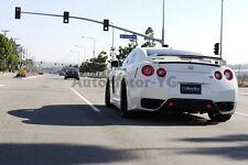 Carbon Waald Rear Diffuser Addon w/ Brake Light For 08-11 Nissan R35 GTR CBA
