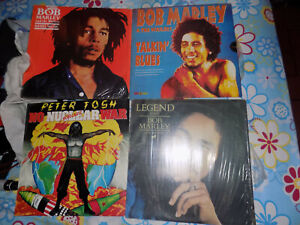 BOB MARLEY, REGGAE, TALKIN BLUES, PETER TOSH, VENEZUELA, VG+++,LOTS LPS, ROCK