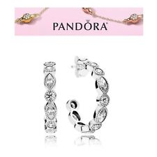 Pandora Silver Alluring Brilliant Marquise Earrings S925 ALE