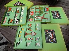 Bauernhof Holztiere Tiere Zoo Flachfiguren Holz Spielzeug Holzfiguren BERTHOLDS