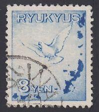 RYUKYU-JAPAN, 1950. Air Mail C1, Used