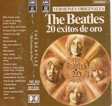 "THE BEATLES ""20 EXITOS DE ORO"" ULTRARARE SPANISH CASSETTE / LENNON - McCARTNEY"