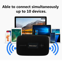 150Mbps Hotspot Sim Card Unlocked 4G LTE LCD WIFI Wireless Router Mobile Modem