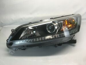 2013 2014 2015 HONDA ACCORD FRONT LEFT  OEM HEADLIGHT Ag1
