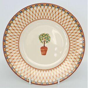 "Johnson Bros ""LEMON TREE (Round)""  Salad Entree Plate(s) -  21.5cm - LIKE NEW."