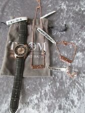 QVC Designer THOM by Thomas Rath Schmuckset Uhr + Kette + Armband +Ohrringe Neu