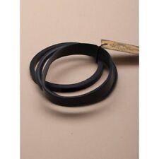 NEW Pack of 3 black irregular silicone bracelets fashion costume (M)