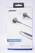 Bose SoundSport Wired In-Ear Headphones Black for iPod iPhone iPad