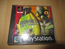 Oddworld: Abe's Exoddus PS1 pal version MINT COLLECTORS