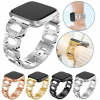 Replace Samsung Gear Live R382 R381 SM-R380 Diamond Bling Metal Watch Band Strap