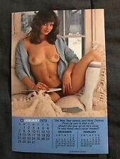 """PLAYBOY Playmate Mini Calendar 1979 4""""x6.25"""""""