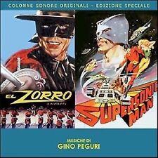 Gino Peguri: El Zorro / Supersonic Man (New/Sealed CD)