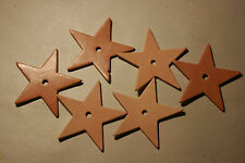 "PARROT Toy PARTS, Leather  Craft Parts3"" Medium Star w/5/16"" Hole LP010"